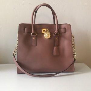 Michael Kors mauve purse
